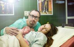 Kristinos išpažintis: 20 valandų gimdykloje ir neįkainojama vyro pagalba