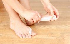 Hallux Iššokęs pėdos kauliukas