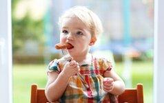 Gydytoja: normaliai vaiko raidai mėsa būtina