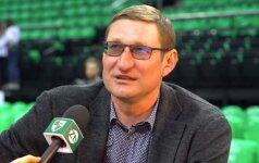 Žukauskas prisiminė Jasikevičiaus įtaką rinktinėje: kartais galvą tekdavo nuleisti, nes kalbėdavo ne treneris, o Šarūnas
