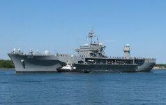 """JAV vadovaujamose pratybose Baltijos jūroje – """"kontaktai"""" su rusais"""