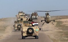 Irako šiaurėje sprogus bombai žuvo JAV karys