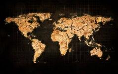 Apendiksai, bambagyslės ir straubliai: keistos valstybių teritorijų ataugos žemėlapyje