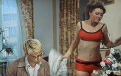 Karščiausia 1965-ųjų sovietinio kino scena: kaip Lida prieš Šuriką suknelę nusimetė