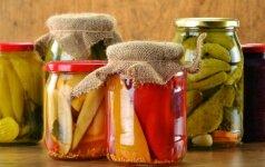 Kurie daržovių konservavimo būdai geriausi