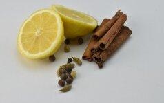 Citrina ir gvazdikėliai – originali priemonė nuo uodų