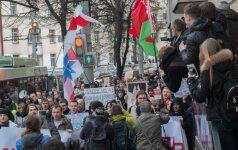 Žmogaus teisių organizacija: Baltarusijoje sulaikyti 17 opozicijos aktyvistų
