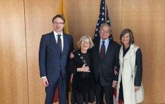 Lietuviai Vašingtone paminėjo Holokausto atminimo dieną