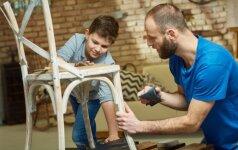 5 projektai, kurie pradžiugins visą šeimą