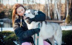 Haskius auginanti Laura: nuo pat mažens šunys saugojo ir gynė sūnų Arną