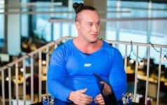 Asmeninis treneris A. Pauliukevičius: sveikata svarbiau už numestus kilogramus