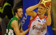 R. Kaukėnas ir D. Lavrinovičius Italijoje pelnė 16 taškų