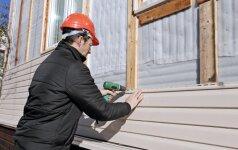 Plastikinės fasado dailylentės: pliusai bei minusai