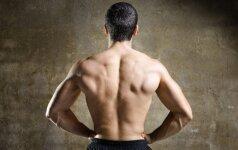 Keturi pratimai, padėsiantys pamiršti sukietėjusių raumenų skausmą