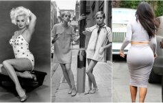 Seniau ir dabar: ideali moters figūra vyrų akimis Nuo Jean Harlow iki Kim Kardashian