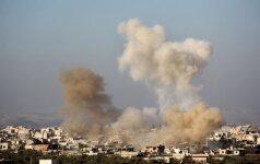 """Rusija, Iranas ir Turkija susitarė dėl paliaubų Sirijoje užtikrinimo """"mechanizmo"""""""