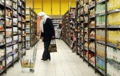 Tyrimas: Rytų ir Vakarų Europoje parduodamos skirtingos sudėties prekės