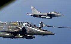 """Prancūzų naikintuvai pradės misiją prieš """"Islamo valstybę"""""""