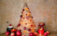Originalios kalėdinės eglutės – netikėti sprendimai, kurie atsieis nedaug