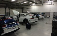 Juta Racing komandos garažas