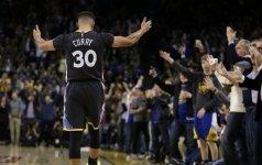 "Fantastišku tikslumu atakavęs ""Warriors"" klubas surengė taškų lietų"