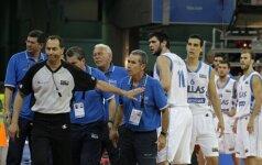Ant teisėjų įniršęs E.Zouros: tai buvo imtynės, o ne krepšinis