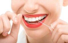 Maistas, naudingas mūsų dantims