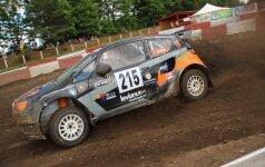 Europos automobilių kroso čempionato etapas Vilkyčiuose