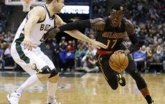 NBA naktis: antausiai Floridos klubams ir D. Schroderio karjeros rungtynės
