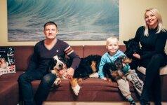 Aleksandras ir Tatjana: ne visos šunų veislės tinka auginantiems vaikus