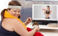 Su valgymu nesusiję įpročiai, kurie tyliai augina svorį