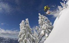 DOVANOJAME kelionę dviems į Austriją slidinėti