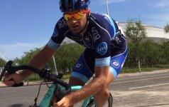 Tomas Vaitkus: nori tapti geru dviratininku – kentėk (FOTO)