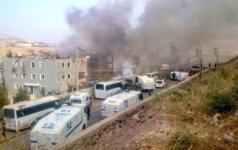 Per sprogimą koptų katedroje Kaire žuvo žmonės