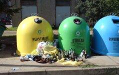 Už blogą atliekų rūšiavimą gresia baudos