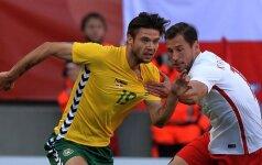 Lietuvos futbolo rinktinė žais draugiškas rungtynes su Čekija