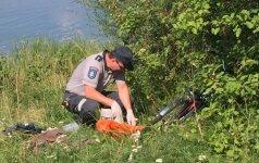 Ugniagesių ištrauktas skenduolis Lampėdžiuose kriminalistams užminė mįslę