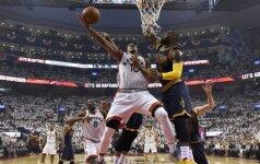 """""""Raptors"""" išlygino NBA Rytų konferencijos finalo serijos rezultatą"""