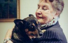 Močiutė Genovaitė: su Noku ir pasikalbame, ir pasipykstame