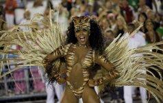Karnavalas Rio de Žaneire prasidėjo paradais ir šventėmis