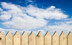 Ko renkantis tvorą reikėtų atsiklausti kaimynų?