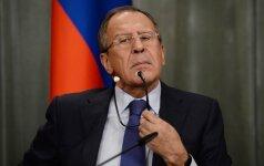S. Lavrovo išskirtinis dėmesys Lietuvai: ką Kremlius tuo nori pasakyti?