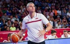 A. Bagatskis paliko Latvijos rinktinės trenerio postą