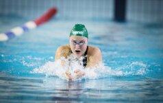 Puiki sezono pradžia Belgijoje: R. Meilutytė medalių kraitį papildė auksu ir bronza