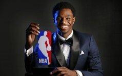 A. Wigginsas – NBA metų naujokas