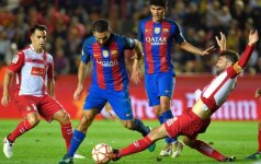 """Barcelona"" pralaimėjo Supertaurę ""Espanyol"" klubui"