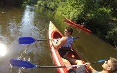 Joninės baidarėse: trys dienos - trys upės