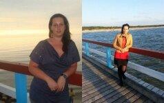 30 kilogramų atsikračiusi Eglė: negaliu patikėti, kad kažkada galėjau atrodyti kitaip