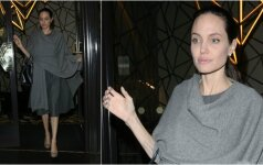 A. Jolie nustebino savo išvaizdos pokyčiais vos per vieną mėnesį FOTO