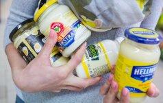 Eksperimento su majonezais rezultatas nustebino: žmonės apsigauna rinkdamiesi sveikiausią